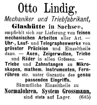 Allgemeines Journal der Uhrmacherkunst Nr.19 vom 01. Okt. 1891 1. Beilage S.328