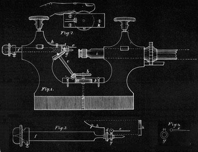Zapfenrollierstuhl 1878