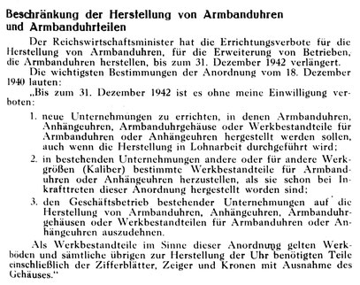Uhrmacherkunst Nr.1 v.03. Jan.1941 S.5
