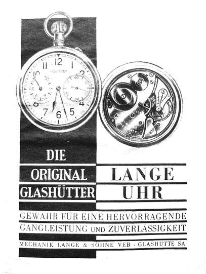 Werbeanzeige für Kal.48 um 1950