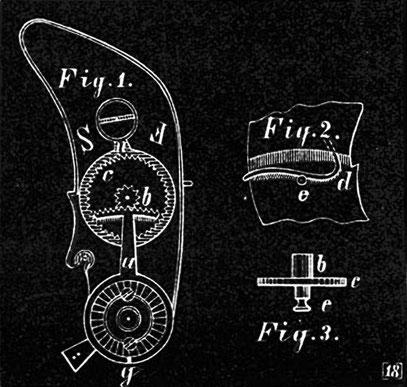 Rückersystem von Adolph Lange