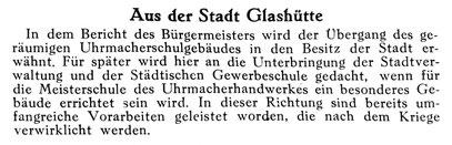 Quelle Die Uhrmacher-Woche Nr.1 vom 03. Jan. 1942 S.10