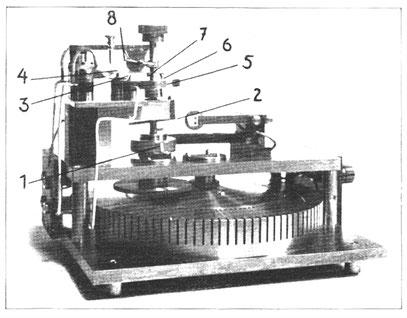 Geodätisches Institut Potsdam; Synchronmotor einer Quarzuhr 1938