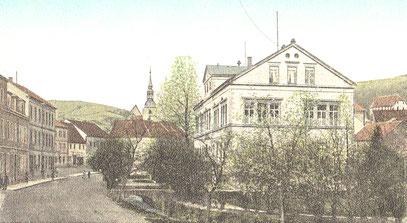 Die Deutsche Uhrmacherschule im Frühjahr 1907