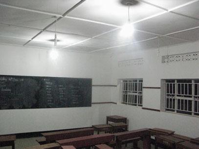 Helles Klassenzimmer