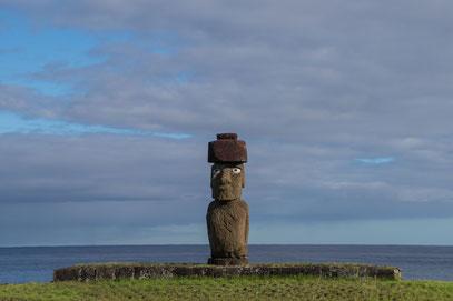 Rapa Nui Osterinsel Ahu Hanga Roa