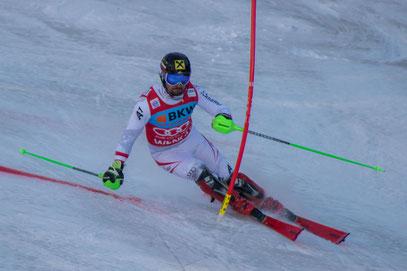 Marcel Hirscher Lauberhorn Audi FIS Skiweltcup Slalom
