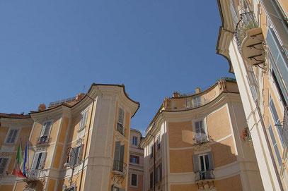 Rom, Piazza San Iganzio. Wunderbares Ensemble im Jugenstil.