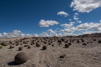 "Parque Provincial Ischigualasto - ""Bowlingkugeln"""