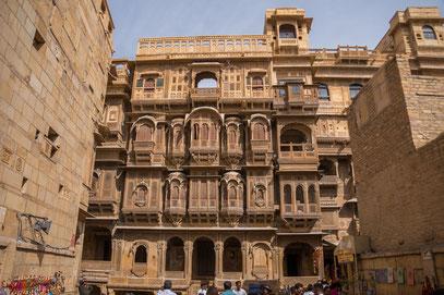 Jaisalmer - das Haveli Patwon-Ki