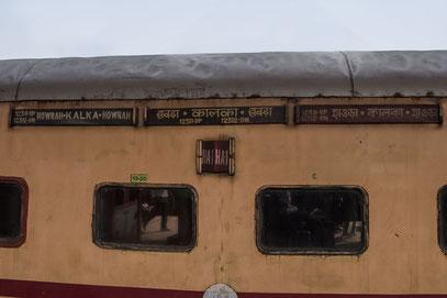 Kalka Mail Express; Kolkata; Kalka