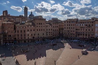 Siena; Piazza del Campo