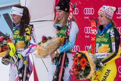 Audi FIS Ski Worldcup Slalom Ladies Carns Montana Michaela Shiffrin