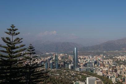 Santiago de Chile, Cerro San Cristobal,