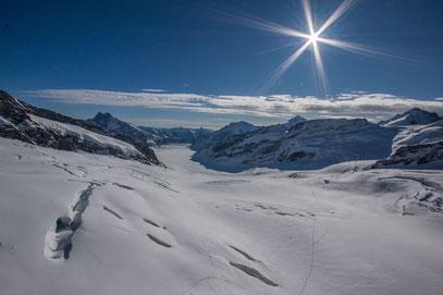 Jungfraujoch; Aletschgletscher