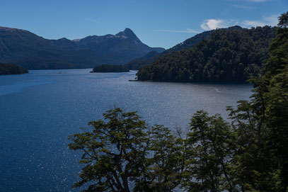 Der Nahuel Huapi See in gleichnamigen Nationalpark
