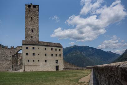 Bellinzona, Castel Grande UNESCO