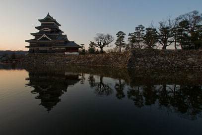Matsumoto-jõ - das imposante Burg