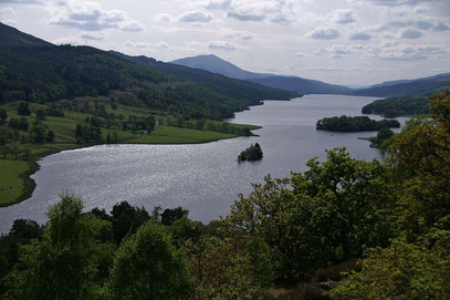 Loch Tummel; Queen's View; Scotland