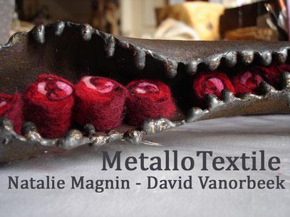 metal + feutre felt vanorbeek - magnin  www.vanorbeek.com