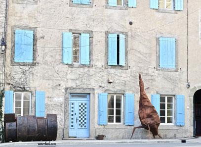 Parc de sculptures en Aquitaine