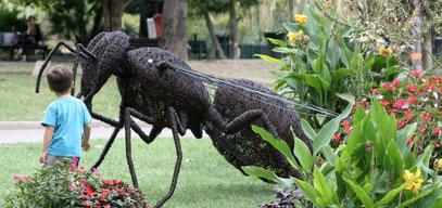 sculpture honeybee vanorbeek