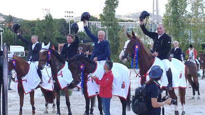 Nationenpreis-Sieg Barcelona 2016 mit E.Theisen & M.Steiger
