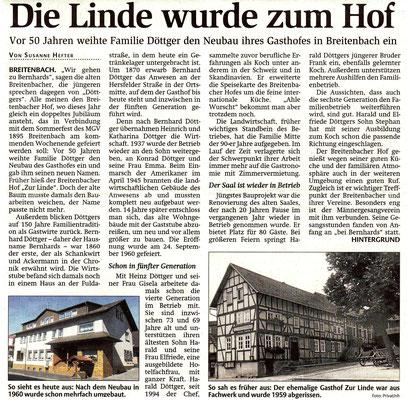 Die Geschichte des Breitenbacher Hofs