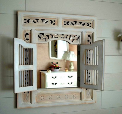 Miroir fenêtre Marocain customisé