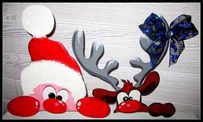 Père Noel pour bordure de fenêtre