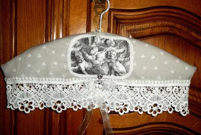 Cintre relooké style romantique