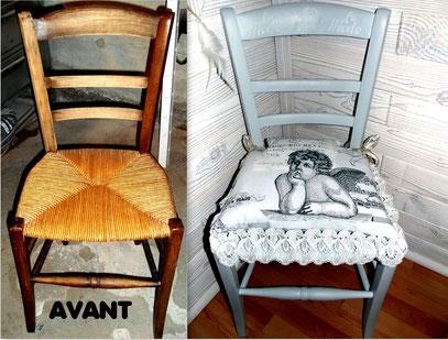 avant apres lafeedubricolage. Black Bedroom Furniture Sets. Home Design Ideas