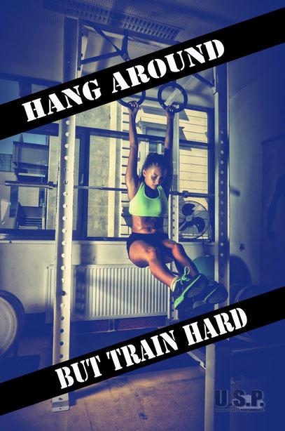 NATHALIE kennt nur eines ... hartes Training!