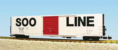 USA Trains SOO 60 Foot Single Door Box Car