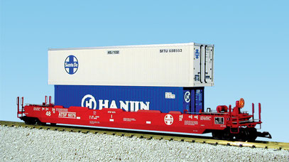 ATSF INTERMODAL CONTAINER CAR