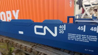 CN INTERMODAL CONTAINER CAR