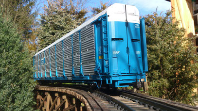 USA Trains GTW Bi-Level Auto Carrier
