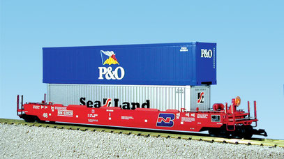 BN INTERMODAL CONTAINER CAR