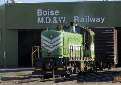 M.D.&W. Railway ALCO S4