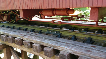 Hand Made Long Caboose D&RGW