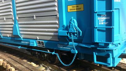 USA Trains GTW Bi-Level Auto Carrier