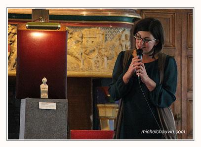 Conférence sur l'art Gallo Romain à l'hotel de ville de Cherbourg