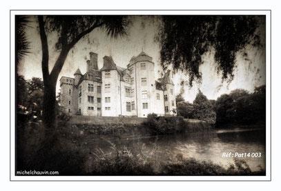 """""""Chateau des Ravalets - Tourlaville"""" Réf : Pat14 003"""
