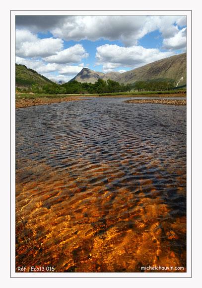 """Le loch d'or - Glen Etive"" Réf : Eco13 016"