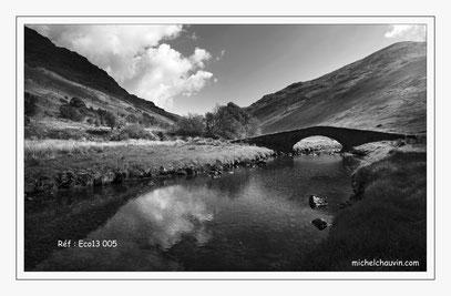 """""""Le pont de pierre de Glen Kinglass 1"""" Réf : Eco13 005"""