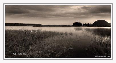 """""""Lac de Bourdouze 1"""" Réf : Pan13 006"""