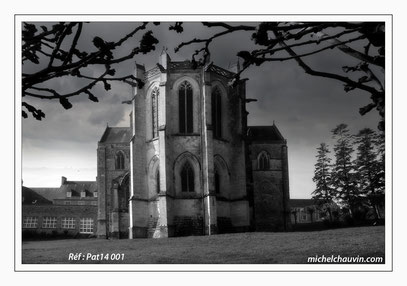 """""""Abbaye de Saint Sauveur le Vicomte 1"""" Réf : Pat14 001"""
