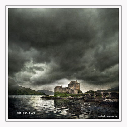 """""""Eilean Donan Castle 1"""" Réf : PaM13 005"""