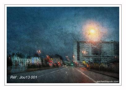 """Avenue de la Gare"" Réf : Jou13 001"