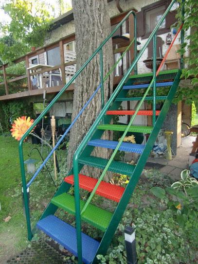 Garten-Stiege in Greifenstein
